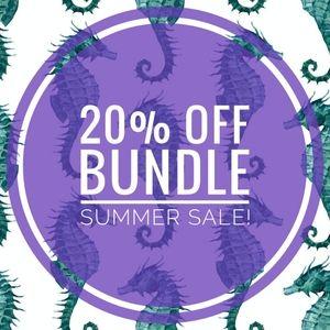 20% Off Bundle Summer Sale